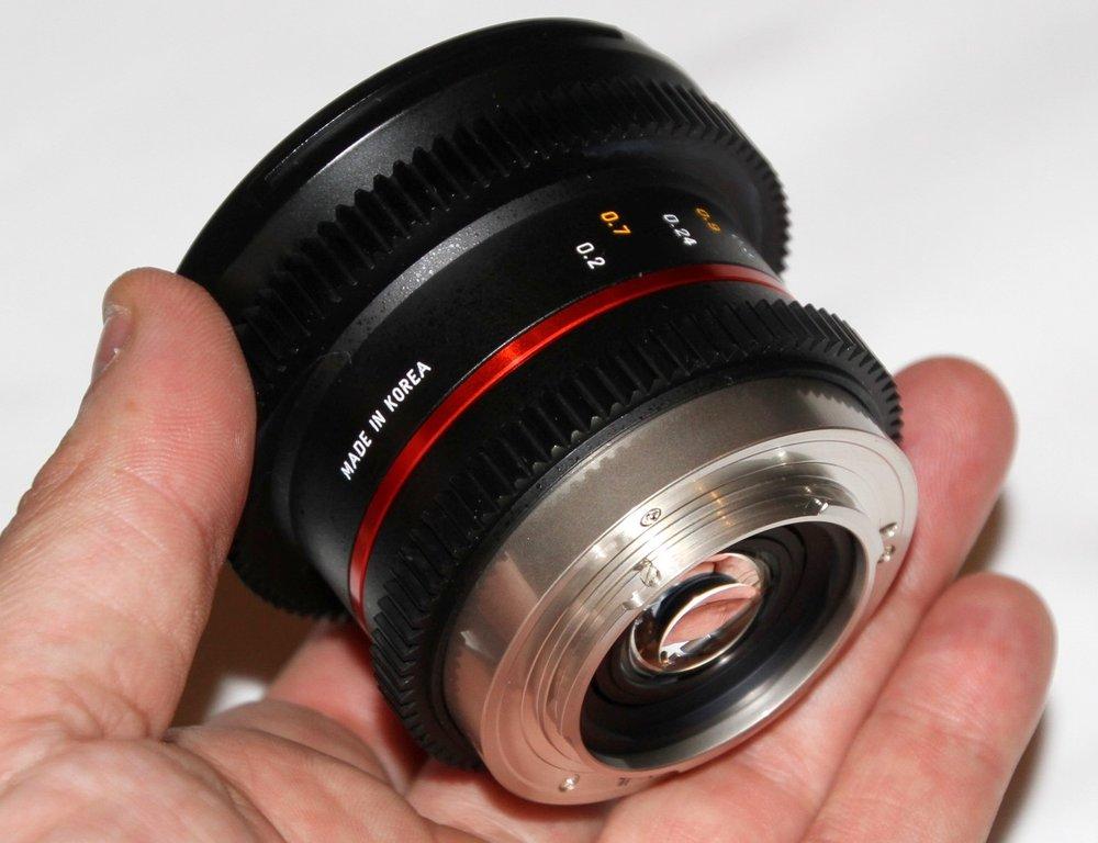 Samyang 12mm T2 2 NCS CS MFT Images