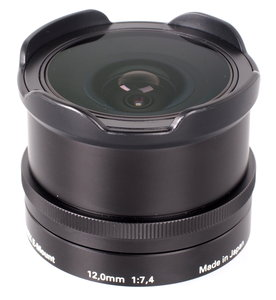 12mm f/7.4 Fisheye Wide-Angle