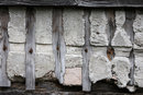 Texture In Tithe Barn Wall | 1/500 sec | f/8.0 | 135.0 mm | ISO 400