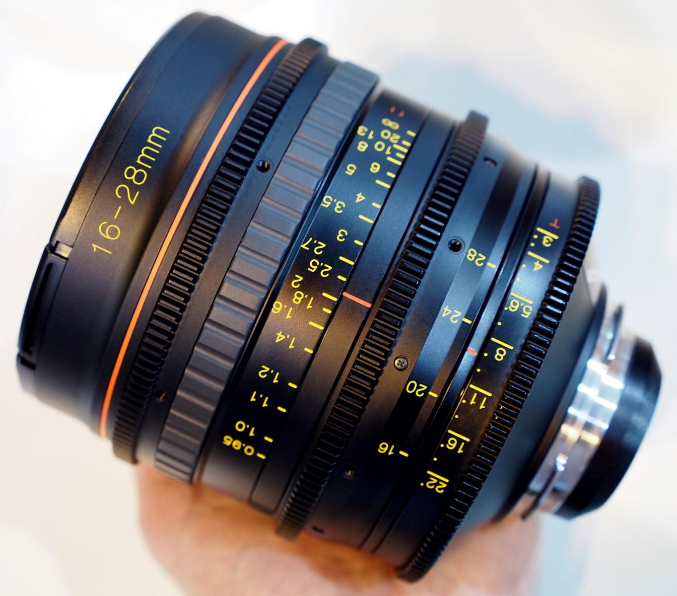 Tokina 16-28mm 11-16mm Cine Lens Hands-On | ePHOTOzine