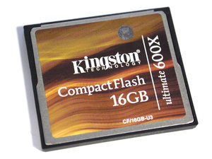 16Gb Compact Flash Ultimate 600X