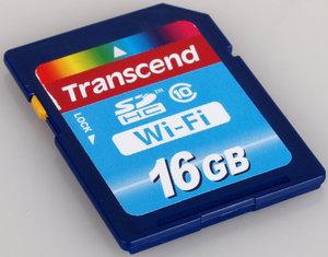 16Gb Wi-Fi SDHC Class 10 Memory Card