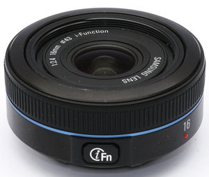 16mm f/2.4 NX i-Function Pancake Lens