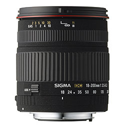 18-200mm f/3.5-6.3 DC