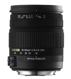 18-50mm f/2.8-4.5 DC OS HSM