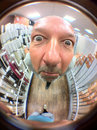 "iPhone fisheye lens - self portrait 1/17 sec | f/2.8 | 3.9 mm | ISO 80 | <a target=""_blank"" href=""https://www.magezinepublishing.com/equipment/images/equipment/190-degree-Fisheye-lens-for-iPhone-3623/highres/fisheyepete1_1317908123.jpg"">High-Res</a>"