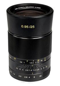25mm f/0.95