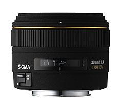 30mm f/1.4 EX DC HSM