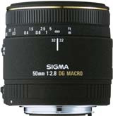 50mm f/2.8 Macro EX DG