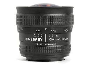 5.8mm f/3.5 Circular Fisheye