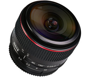 6.5mm f/2.0 Fisheye