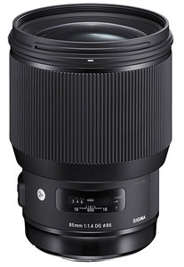 85mm f/1.4 DG HSM Art