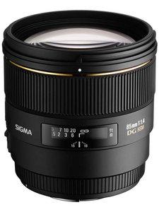85mm f/1.4 EX DG HSM
