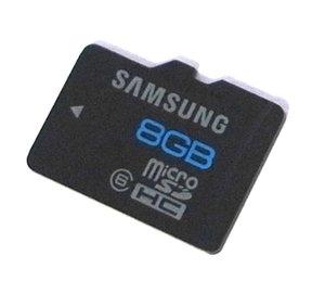 8Gb MicroSDHC Class 6
