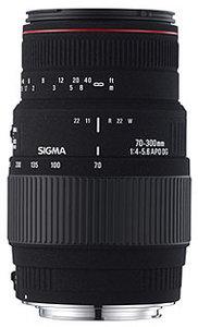 AF 70-300mm f/4-5.6 APO DG MACRO