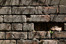 Texture in old brick - 1/80 sec | f/8.0 | 85.0 mm | ISO 100
