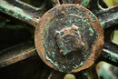 Wheel on canalside crane - 1/100 sec | f/1.4 | 85.0 mm | ISO 100