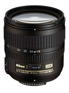 AF-S DX 18-70mm f/3.5-4.5G