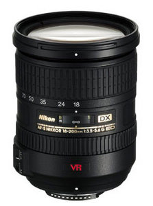AF-S DX VR 18-200mm 3.5-5.6G IF-ED