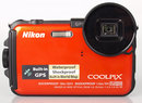 "Nikon Coolpix AW100 Front | <a target=""_blank"" href=""https://www.magezinepublishing.com/equipment/images/equipment/Coolpix-AW100-3568/highres/nikoncoolpixaw100front1_1317826942.jpg"">High-Res</a>"