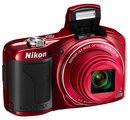 """Nikon Coolpix L610 RED 