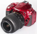 "Nikon D5300 Red (4) | <a target=""_blank"" href=""https://www.magezinepublishing.com/equipment/images/equipment/D5300-5314/highres/Nikon-D5300-Red-4_1383658351.jpg"">High-Res</a>"