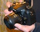 Nikon D7100 In hand