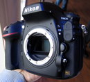Nikon D800 hands on - 3/4 view
