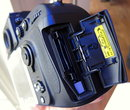 Nikon D800 hands on - card slot