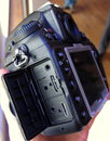 Nikon D800 hands on - side view