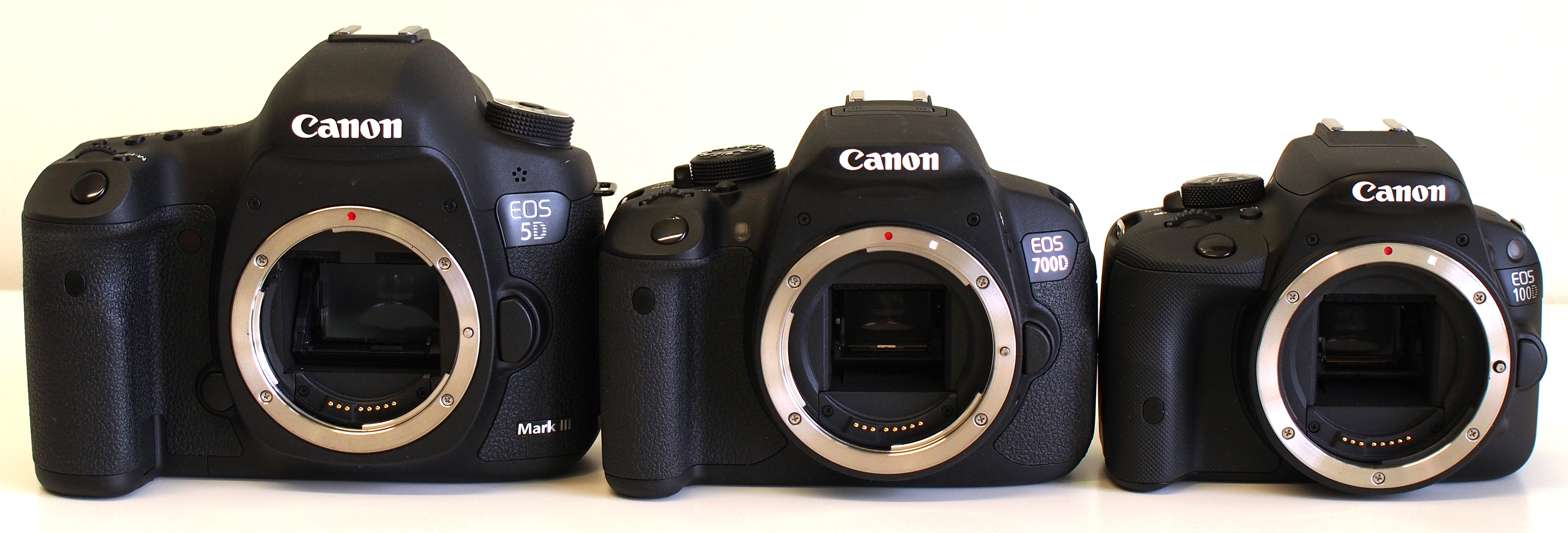 Canon EOS 100D Vs 700D DSLR Comparison