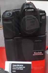 EOS 1N D Kodak DCS 3c