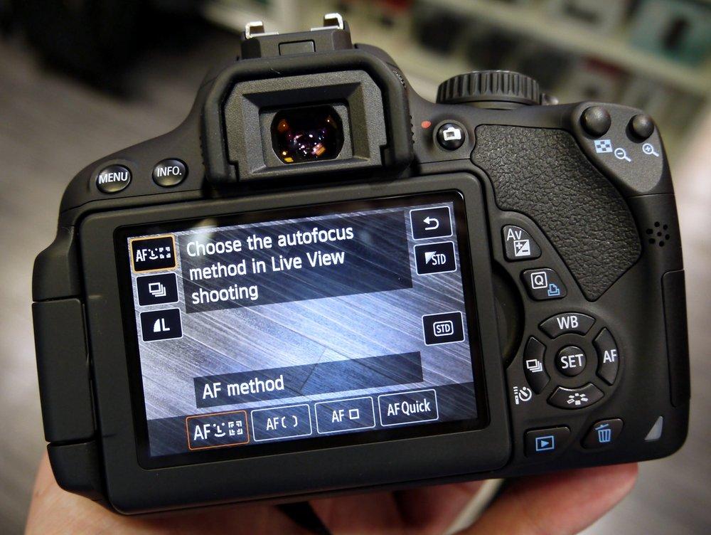капитальный лайв вью в фотоаппарате это это одна