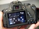 Canon EOS 650D Rear control / Info screen
