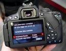 Canon EOS 650D Lens correction