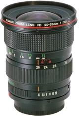 FD 20-35mm f/3.5 L