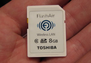 FlashAir Wireless LAN SDHC 8GB