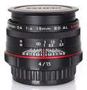 "HD Pentax DA 15mm Limited (2) | <a target=""_blank"" href=""https://www.magezinepublishing.com/equipment/images/equipment/HD-PENTAXDA-15mm-f4-ED-AL-Limited-5270/highres/HD-Pentax-DA-15mm-Limited-2_1381756587.jpg"">High-Res</a>"