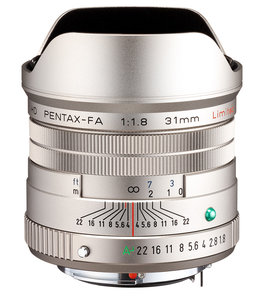 HD PENTAX-FA 31mm f/1.8 Limited (2021)