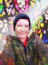 Selfie Stained Glass | 1/100 sec | f/2.0 | 3.9 mm | ISO 80