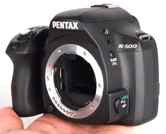 "Pentax K500 Hands On (1)<br /><a target=""_blank"" href=""https://www.magezinepublishing.com/equipment/images/equipment/K500-5192/highres/Pentax-K500-Hands-On-1_1371034226.jpg"">High-Res</a>"