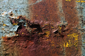 """Rust Close Up 