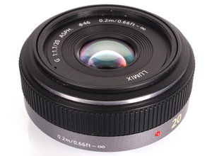 Lumix G 20mm F/1.7 Pancake Lens