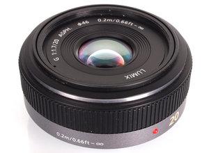 Lumix G 20mm F/1.7 Pancake Lens