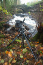 """Giottos MTL9351B & MH5011 being used to take a waterfall 