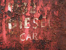 Texture In Red Peeling Paint   1/50 sec   f/5.6   26.0 mm   ISO 200