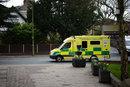 Passing Ambulance Grab Shot | 1/4000 sec | f/1.4 | 85.0 mm | ISO 400