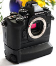 "Olympus OM D E M1 With Battery Grip (2) | <a target=""_blank"" href=""https://www.magezinepublishing.com/equipment/images/equipment/OMD-EM1-5261/highres/Olympus-OM-D-E-M1-with-Battery-Grip-2_1378457833.jpg"">High-Res</a>"