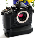 "Olympus OM D E M1 With Battery Grip (6) | <a target=""_blank"" href=""https://www.magezinepublishing.com/equipment/images/equipment/OMD-EM1-5261/highres/Olympus-OM-D-E-M1-with-Battery-Grip-6_1378457869.jpg"">High-Res</a>"