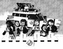 B&W Pencil Sketch Ghost Busters